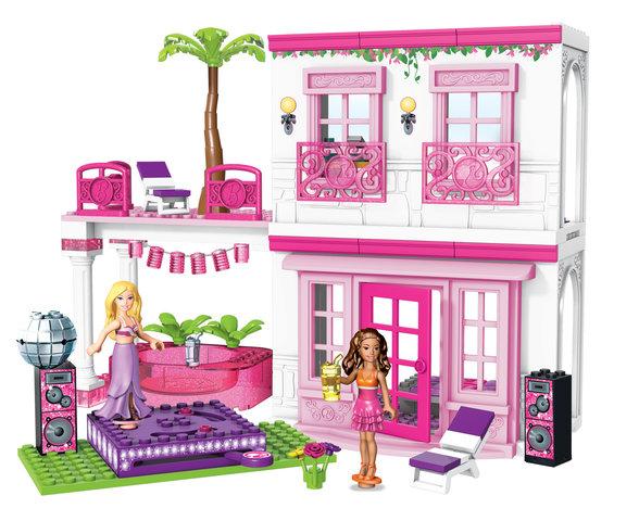 Pierwsze klocki od Barbie?