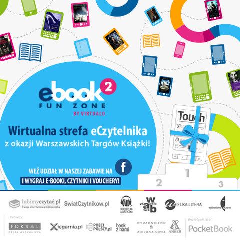 Wirtualna strefa eCzytelnika ? wspólny projekt Virtualo i wydawnictw z okazji Warszawskich Targów Książki