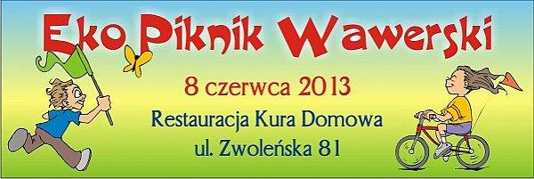 Ekologiczny Piknik Rodzinny w Wawrze