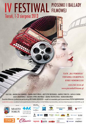 Rozpoczyna się 4. Festiwal Piosenki i Ballady Filmowej