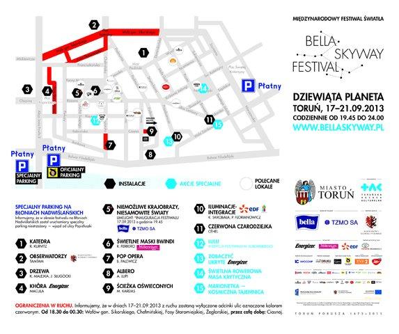 Bella Skyway Festival: światło zawładnie Toruniem
