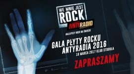 """GALA """"PŁYTY ROCKU ANTYRADIA 2016"""" LIFESTYLE, Muzyka - T.Love i July Talk na jedynym takim koncercie w Polsce!"""