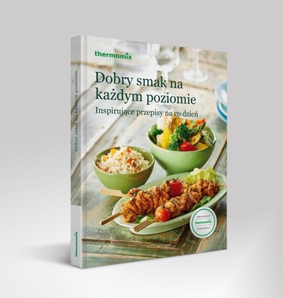 """Książka z przepisami na Thermomix® z prestiżową nagrodą Gourmand Awards LIFESTYLE, Książka - Jury Gourmand World Cookbook Awards – najbardziej prestiżowej nagrody dla literatury kulinarnej - uznało książkę """"Dobry smak na każdym poziomie"""" za najlepszą w Polsce w kategorii Korporacyjna książka kucharska."""