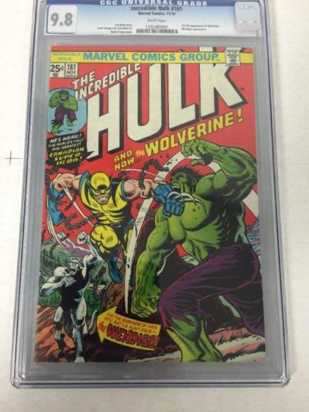 Fikcyjna postać z komiksów prawdziwą żyłą złota LIFESTYLE, Książka - Unikatowy numer komiksu z 1974 roku, w którym zadebiutował Wolverine – pierwowzór postaci granej Hugh Jackmana w serii filmów o największych superbohaterach, trafił pod młotek w europejskim domu aukcyjnym Catawiki.