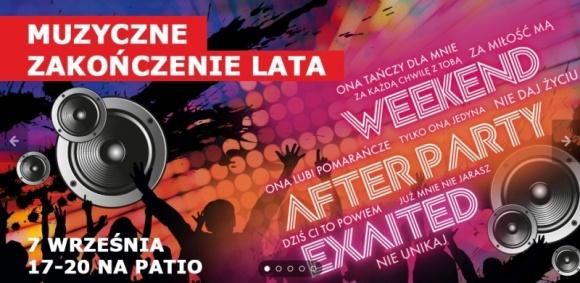 Już w czwartek koncert disco w Porcie Łódź LIFESTYLE, Muzyka - Port Łódź zaprasza wszystkich miłośników lekkich rytmów na koncert muzyki disco, który odbędzie się na Patio Centrum, 7 września o godzinie 17:00. Na scenie wystąpią popularne zespoły: WEEKEND, AFTER PARTY i EXAITED.