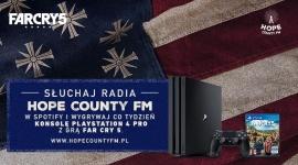 Radio Hope County FM rozpoczyna nadawanie – muzyka w cieniu apokalipsy LIFESTYLE, Muzyka - Na platformie Spotify debiutuje Hope County FM – niepokorna radiostacja, która przybliża świat gry Far Cry 5 oraz prezentuje najlepszą amerykańską muzykę w klimacie rodem z Montany.