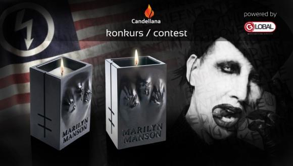 CANDELLANA DLA MARILYNA MANSONA LIFESTYLE, Muzyka - Manson poprzez agencję Global Merchandising Services rozpoczął współpracę z marką Candellana, która wykonała dla niego fenomenalną świecę, jako unikalny gadżet dla fanów.