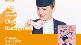 Olga Kuczyńska (Życie Stewardessy) Bydgoszcz Focus Mall Empik LIFESTYLE, Książka - spotkanie autorskie