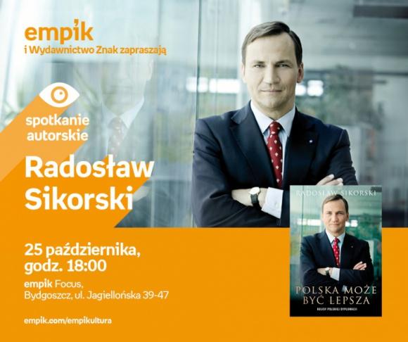 Radosław Sikorski | Empik Focus LIFESTYLE, Książka - spotkanie autorskie