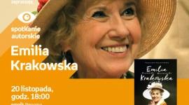 """Emilia Krakowska – """"Aktorzyca"""" we Wrocławiu LIFESTYLE, Książka - Bohaterka książki spotka się ze swoimi fanami już 20 listopada we wrocławskim salonie Empik Renoma."""