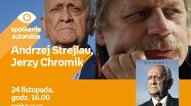 Andrzej Strejlau i Jerzy Chromik o kulisach świata futbolu. LIFESTYLE, Książka - Spotkanie z komentatorskim duetem w Szczecinie