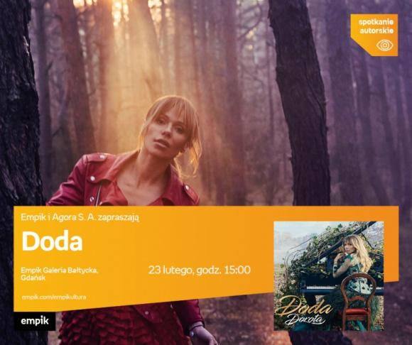 Doda   Empik Galeria Bałtycka LIFESTYLE, Muzyka - Spotkanie autorskie