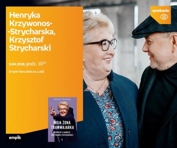 Henryka Krzywonos z mężem o nowej książce | EMPIK MANUFAKTURA LIFESTYLE, Książka - Jakie to uczucie mieć żonę, która jest najbardziej znanym kierowcą tramwaju i jednocześnie staje się jedną z czołowych postaci Solidarnościowej opozycji?
