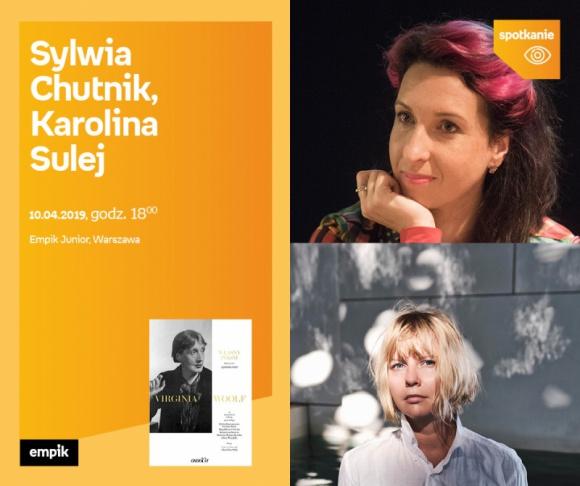 Chutnik i Sulej o Virginii Woolf   EMPIK JUNIOR LIFESTYLE, Książka - Pisarki feministki o eseju sprzed 90 lat.