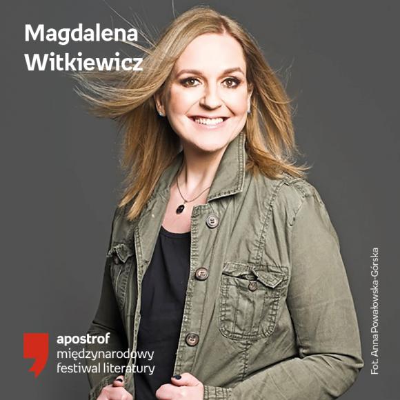Magda Witkiewicz w krakowskim Empiku LIFESTYLE, Książka - Z okazji festiwalu Apostrof, Magda Witkiewicz będzie gościem krakowskiego salonu Empik Bonarka
