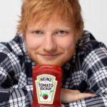 Limitowana edycja ketchupu Heinz z podobizną Eda Sheerana trafia na półki!