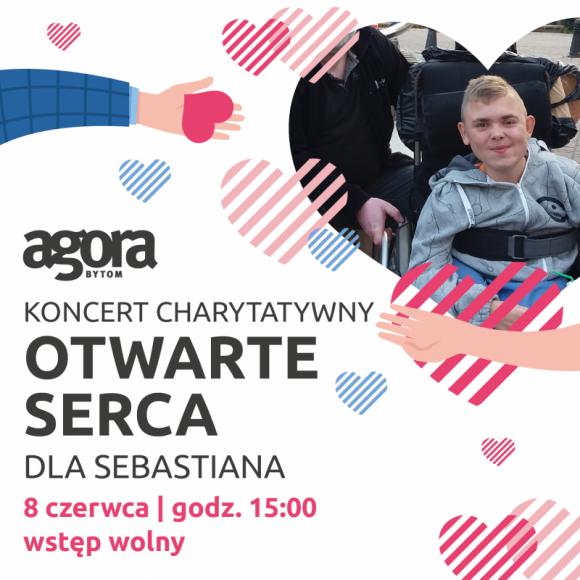 Zagrają dla Sebastiana LIFESTYLE, Muzyka - 16-letni Sebastian cierpi na zanik mięśni. Jedynym ratunkiem jest bardzo kosztowna terapia komórkami macierzystymi. Razem możemy pomóc! 8 czerwca zapraszamy do Agory Bytom na koncert charytatywny.