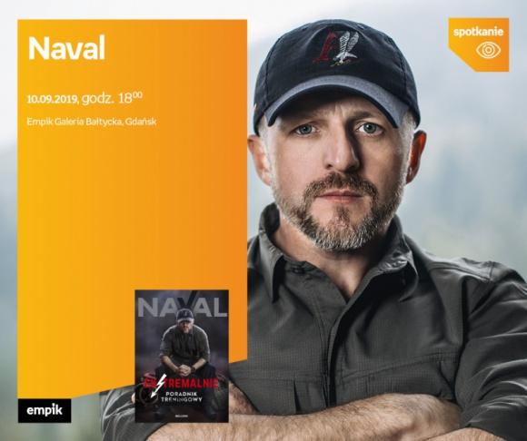 Naval | Empik Galeria Bałtycka LIFESTYLE, Książka - spotkanie