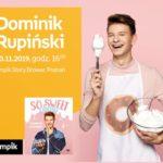 Spotkanie z Dominikiem Rupińskim w Poznaniu