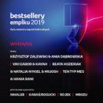 Gala Bestsellery Empiku 2019 w niepowtarzalnej i gwiazdorskiej oprawie muzycznej