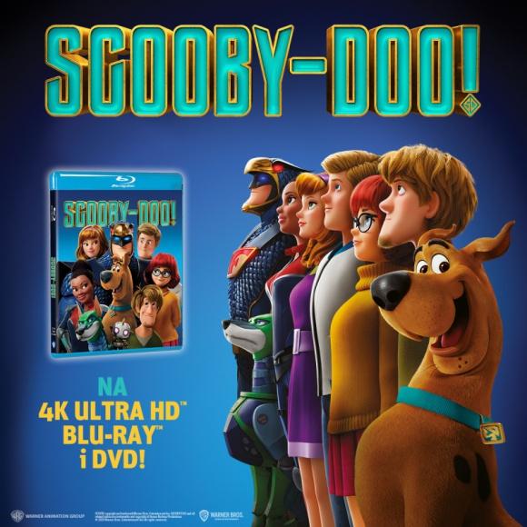 SCOOBY-DOO! Najnowszy film już na 4K Ultra HD, Blu-ray™ i DVD! LIFESTYLE, Film - Scooby-Doo w zeszłym roku skończył 50 lat i wciąż bawi nowe pokolenia widzów. Tych młodszych, ale i starszych, wychowanych na jego przygodach.